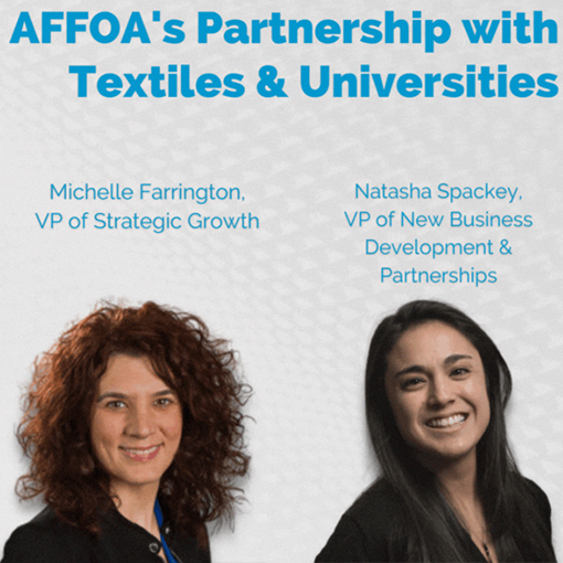 AFFOA's Partnership with Textiles & Universities – June 23, 2021